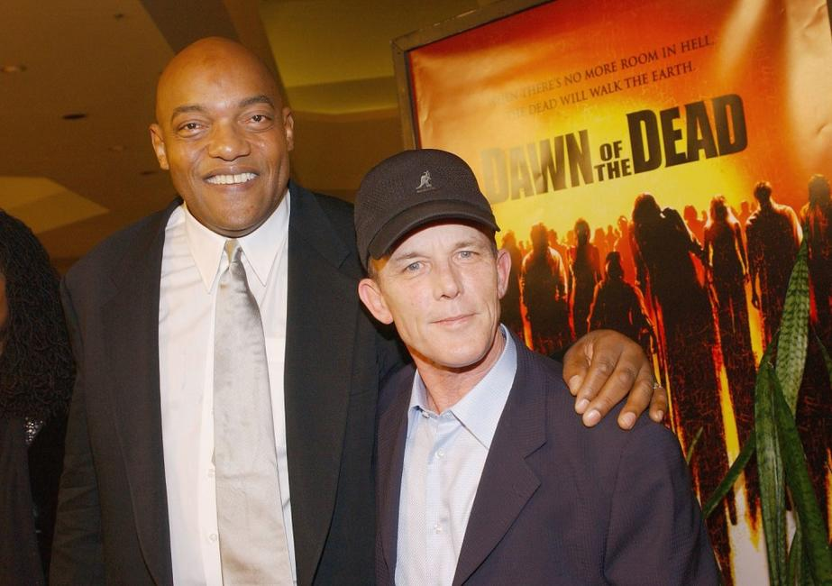 Ken Foree and Scott Reiniger at the premiere of