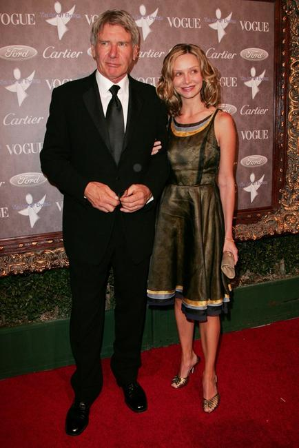 Harrison Ford and Calista Flockhart at the Heaven: Celebrating 10 Years, benefiting The Art Elysium.