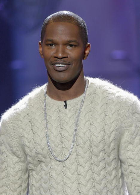 Jamie Foxx at CBS' 6th Annual