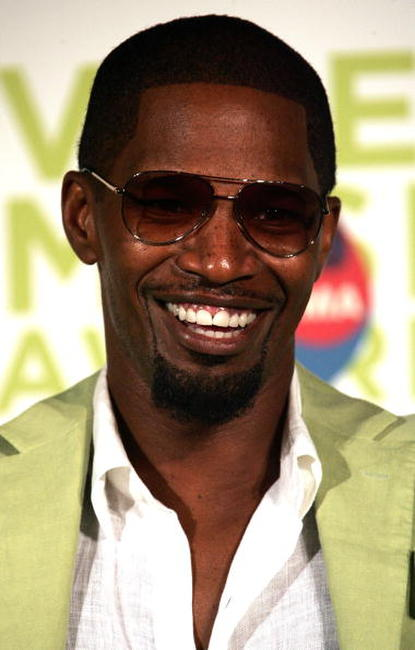 Jamie Foxx at the 2005 MTV VMA's.
