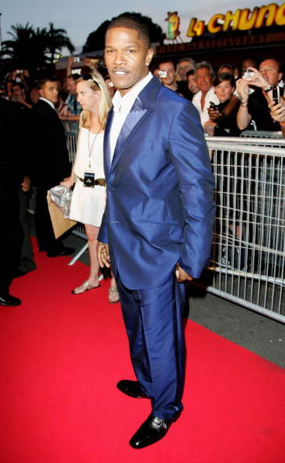 Jamie Foxx at the Cannes  'Dreamgirls' Premiere.