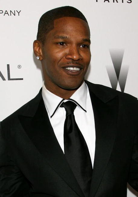 Jamie Foxx at the Weinstein Company's 2007 Golden Globes After Party.
