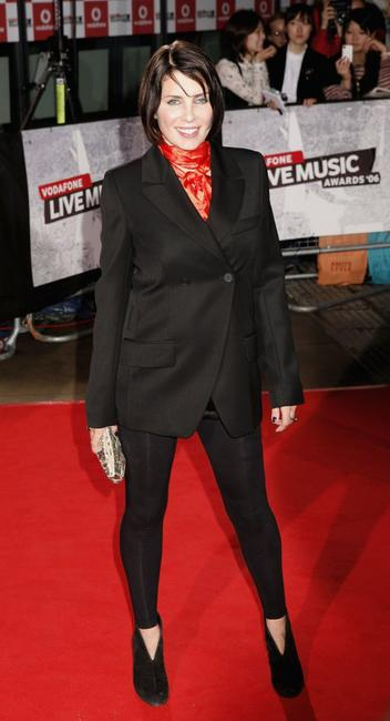 Sadie Frost at the Vodafone Live Music Awards.