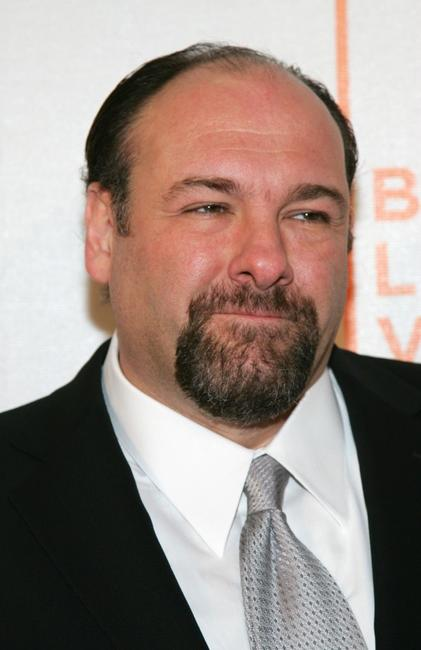 James Gandolfini at the premiere of