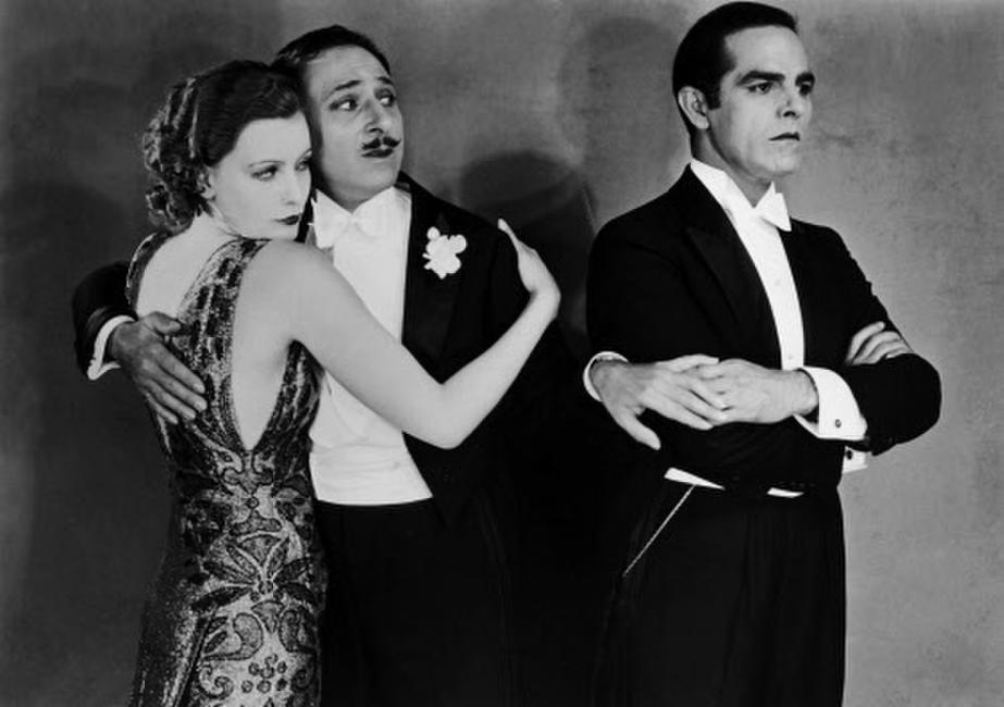 Greta Garbo, Armand Kaliz and Antonio Moreno in
