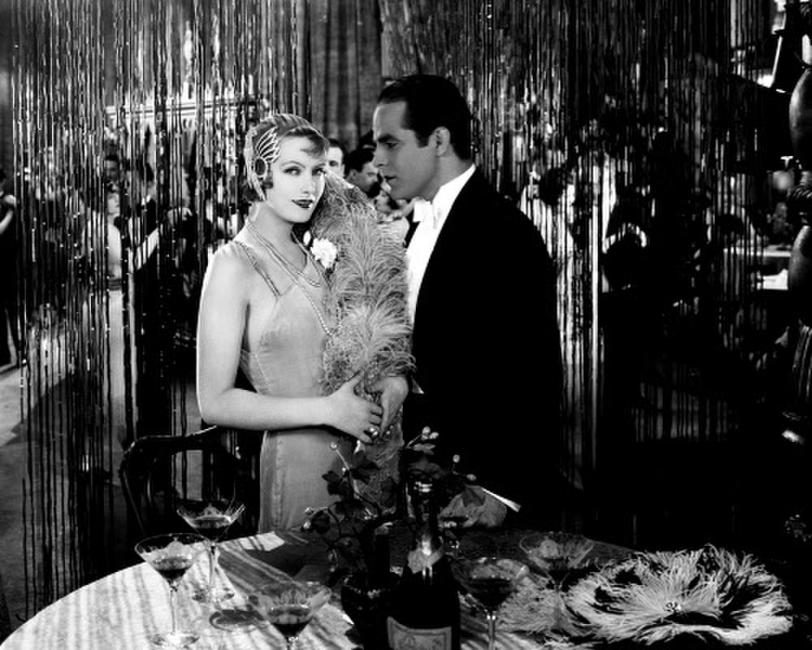 Greta Garbo and Antonio Moreno in