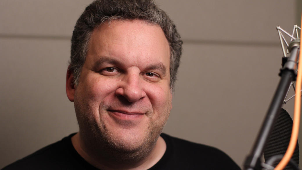 Jeff Garlin on the set of
