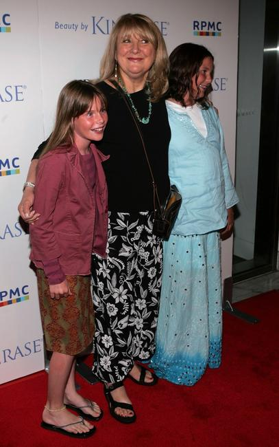Teri Garr and and children at the EB Medical Research Foundation fundraiser.