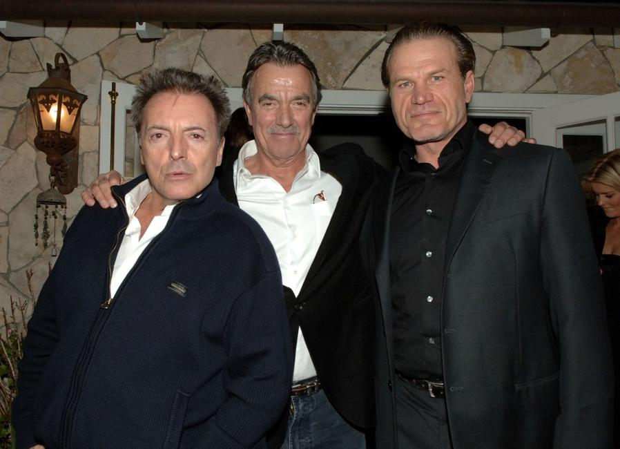 Armand Assante, Eric Braeden and Josh Dempsey at the after party following the premiere of