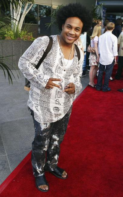 Orlando Brown at the Los Angeles premiere of