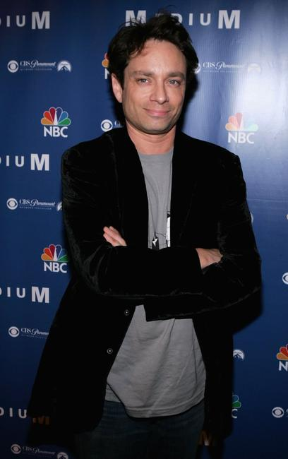 Chris Kattan at the NBC fall party for