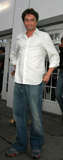 Chris Kattan at the Olympus Fashion Week Spring 2005.
