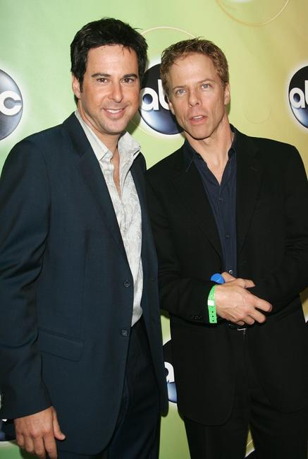 Jonathan Silverman and Greg Germann at the ABC Television Network Upfront.