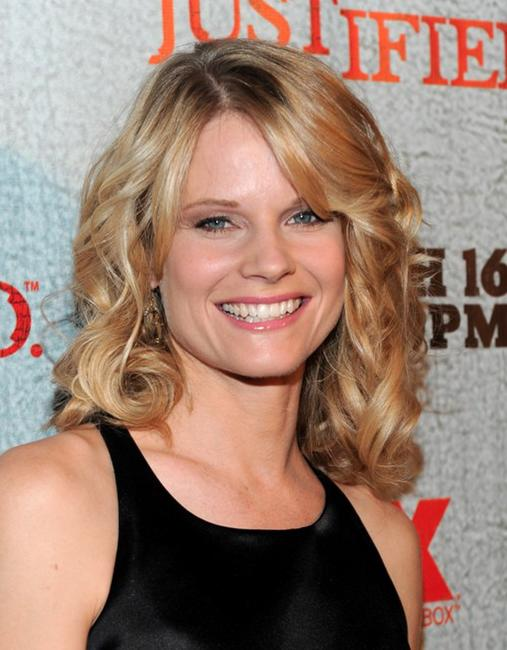 Joelle Carter at the premiere of