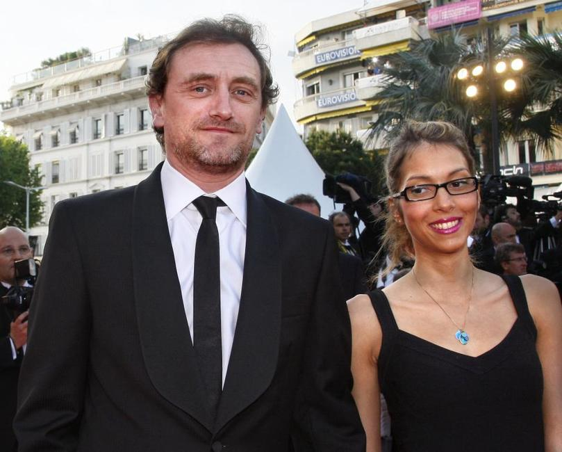 Jean-Paul Rouve and Guest at the 61st Cannes International Film Festival.