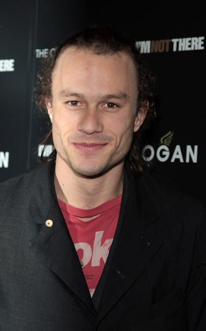 Heath Ledger at the New York premiere of