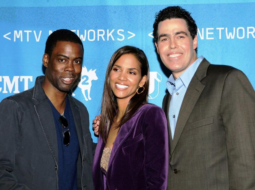 Chris Rock, Halle Berry and Adam Carolla at the MTV Networks Upfront.