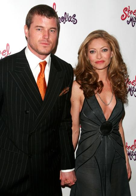 Eric Dane and Rebecca Gayheart at the after party of the opening night of