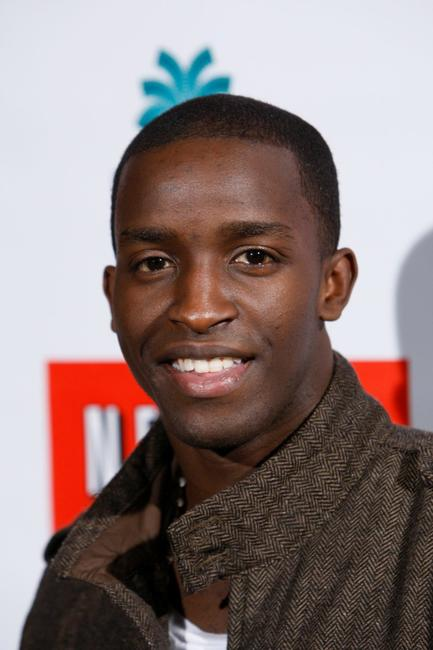 Elijah Kelley at the Outdoor Sing-Along Screening of