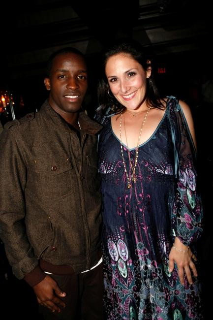 Elijah Kelley and Ricki Lake at the Hairspray dinner at Park Palm Springs.