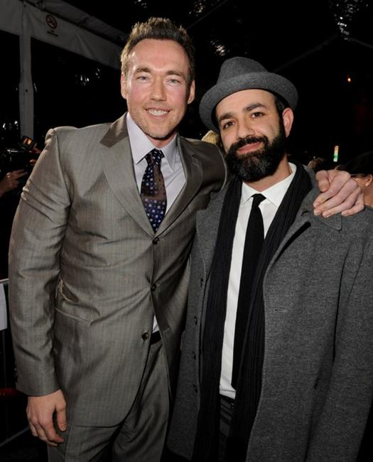 Kevin Durand and Scott Stewart at the premiere of