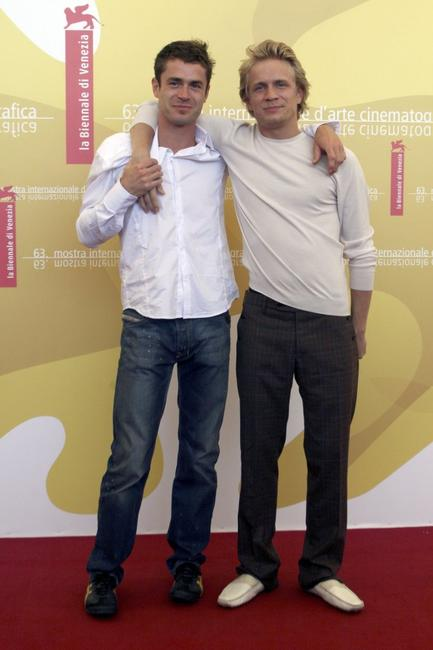 Yannick Renier and Jeremie Renier at the 63rd Venice Film Festival.
