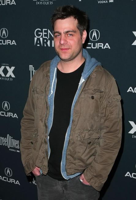 Derick Martini at the New York premiere of