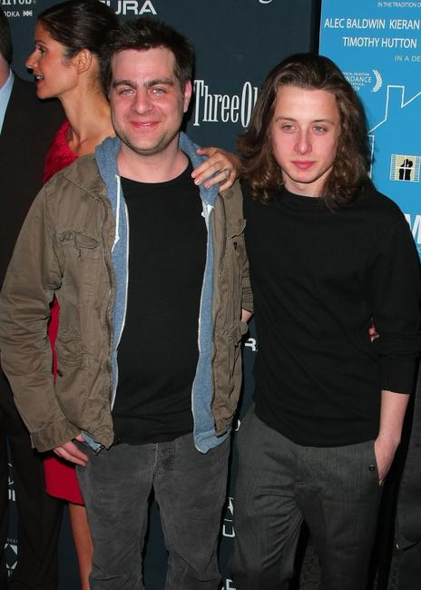 Derick Martini and Rory Culkin at the New York premiere of
