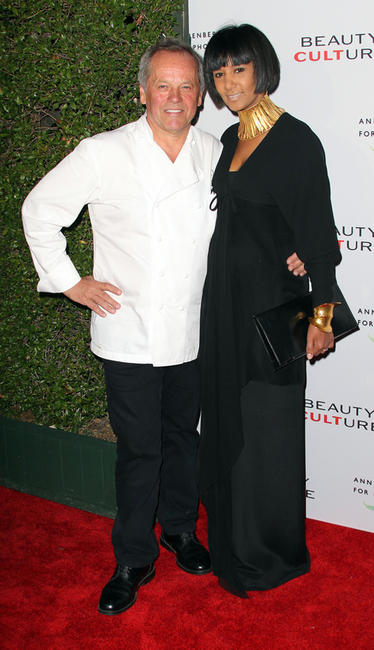 Wolfgang Puck and Gelila Puck at the Opening Night of