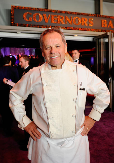 Wolfgang Puck at the 82nd Annual Academy Awards Governor's Ball in California.