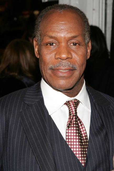 Danny Glover at the premiere of
