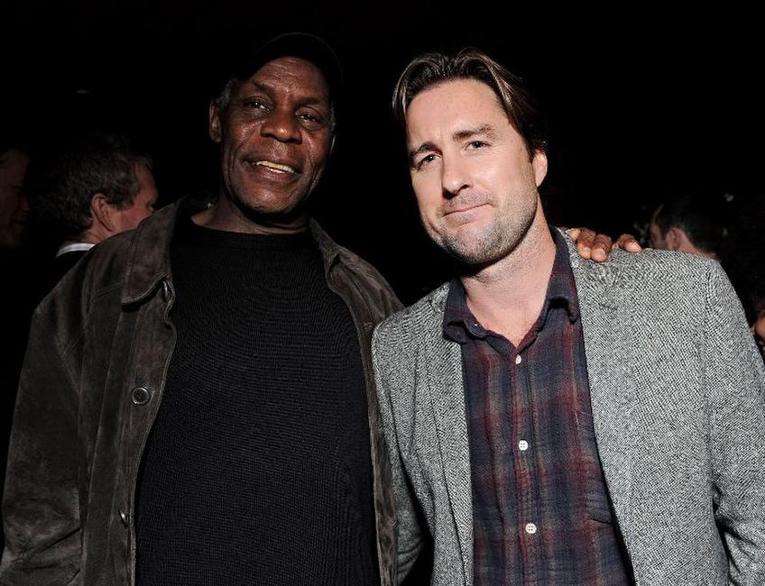 Danny Glover and Luke Wilson at the after party of the California premiere of