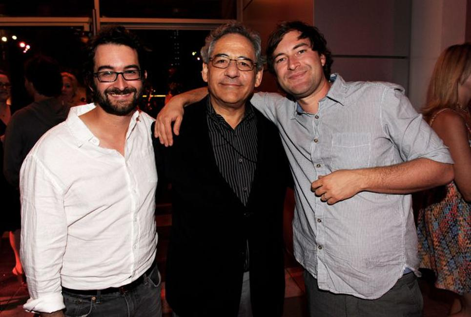 Jay Duplass, Steve Gilula and Mark Duplass at the after party of the premiere of
