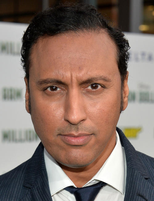 Aasif Mandvi at the California premiere of