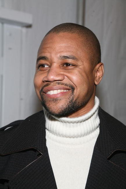 Cuba Gooding, Jr. at the W VIP lounge during Mercedes Benz Fashion Week in N.Y.