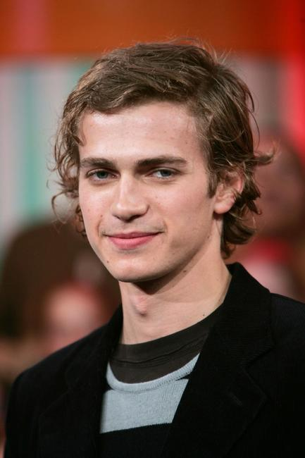 Hayden Christensen at the MTV's Total Request Live.