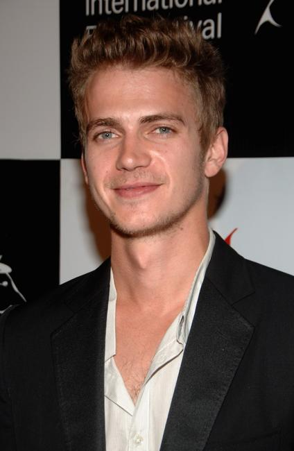 Hayden Christensen at the premiere of