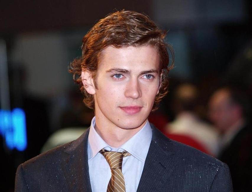 Hayden Christensen at the UK premiere of