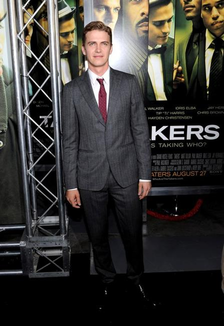 Hayden Christensen at the California premiere of