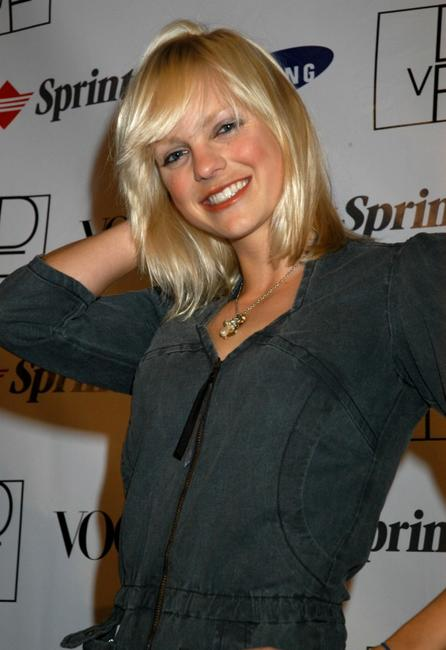 Anna Faris at the launch party to celebrate Diane von Furstenberg's limited edition designer mobile phone.