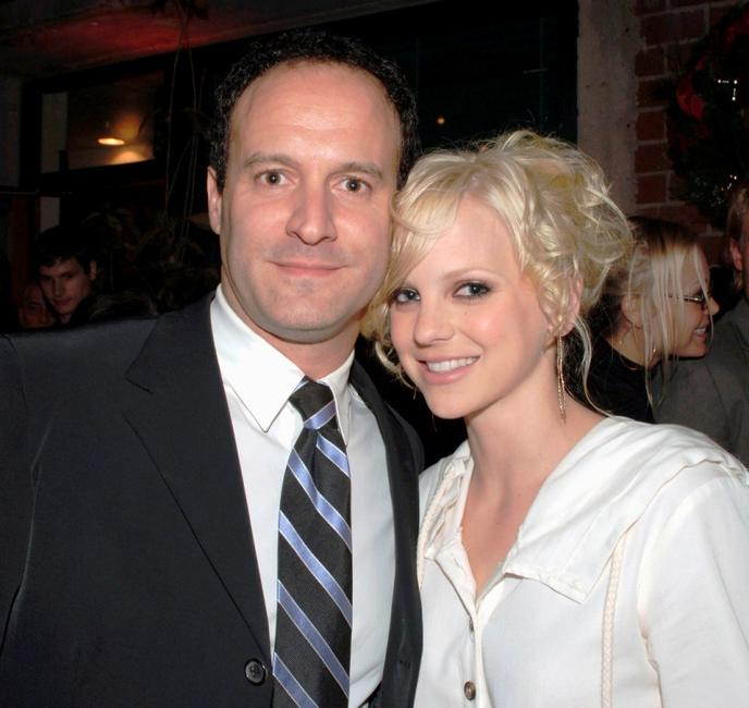 Roger Kumble and Anna Faris at the after party of the premiere of