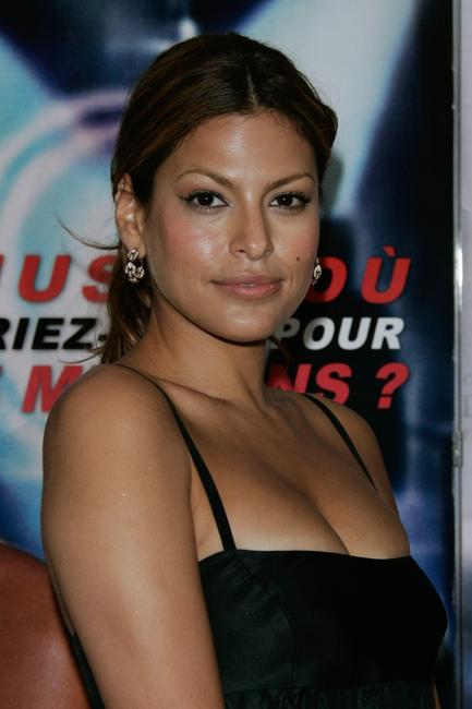Eva Mendes at the premiere of