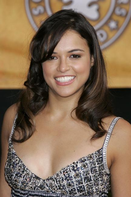 Michelle Rodriguez at the 12th Annual Screen Actors Guild Awards.