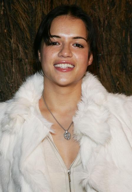Michelle Rodriguez at the Entertainment Weeklys Winter Wonderland Sundance Bash during the 2005 Sundance Film Festival.