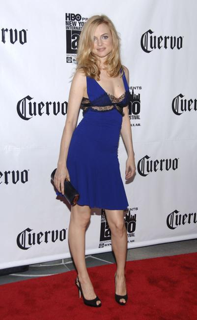 Heather Graham at the Jose Cuervo screening of