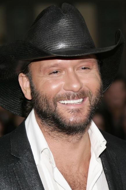 Tim McGraw at the 2005 American Music Awards.