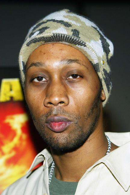 RZA at the premiere screening of