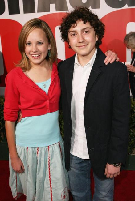 Meaghen Martin and Daryl Sabara at the premiere of