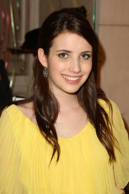 Emma Roberts at the opening party for Juicy Couture's 5th Avenue flagship store at Juicy Couture boutique.