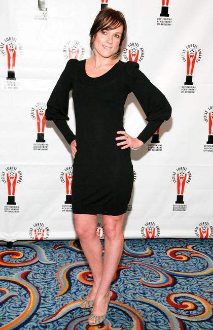 Kerry Condon at the 2009 Lucille Lortel Awards.